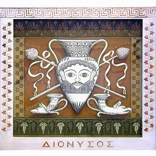 attributes of dionysus