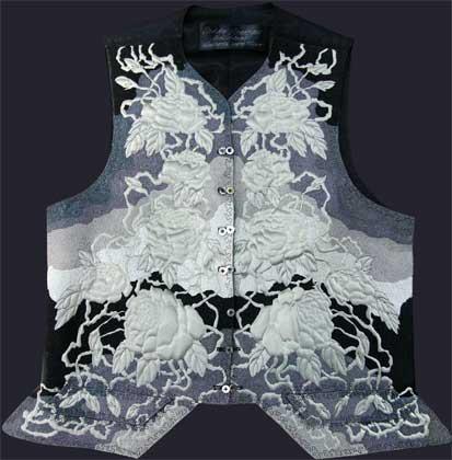 18th c style short waistcoat
