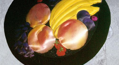 a peach of a hat