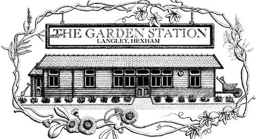 the garden station logo