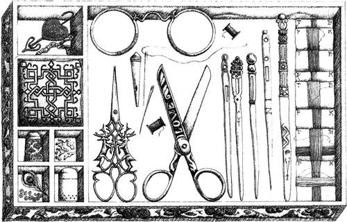 stuart embroiderery tools