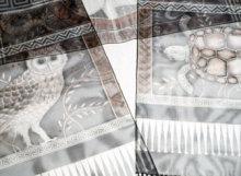athena & the owl shawl