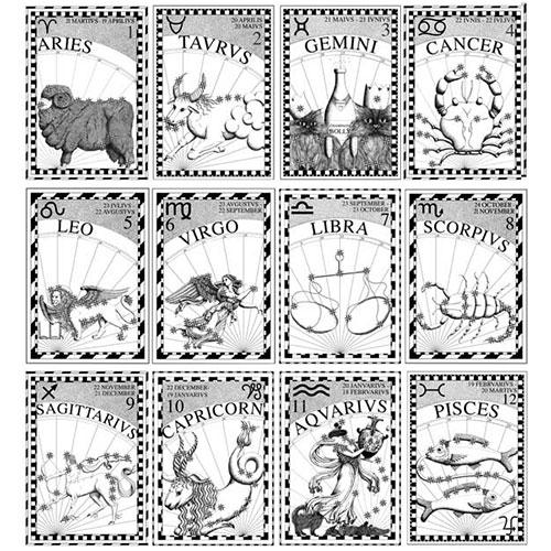 Birthday Card Pack Aries