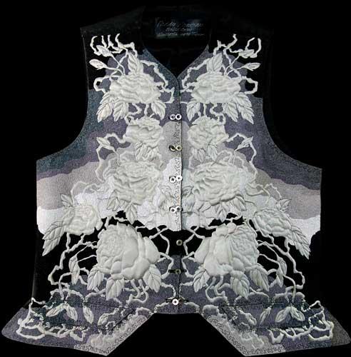 18th century grey waistcoat