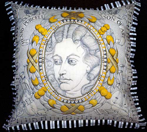 henry purcell pillow
