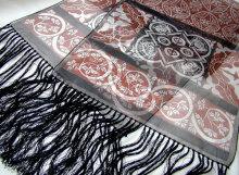 medieval tiles shawl
