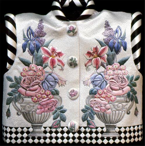 18th century engraving waistcoat