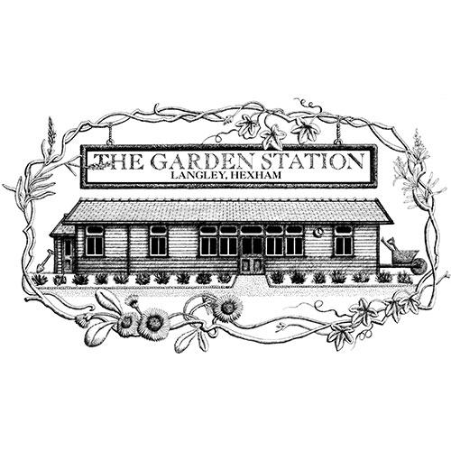 the garden station logo